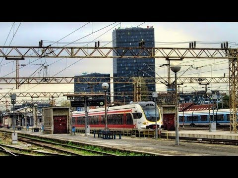 Zagreb Glavni Kolodvor Main Station Croatia Youtube