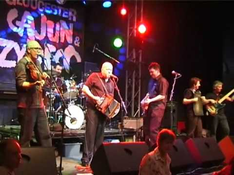 R Cajun and the Zydeco Brothers - Jambalaya - Gloucester Cajun and Zydeco Festival Jan 09