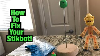 How To Fix Your Broken Stikbot |#Stikbot