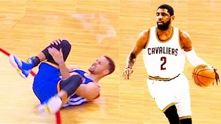 Kyrie Irving breaks Stephen Currys ankles MUST SEE BEST ANKLE BREAKERS 2017