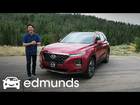 Can the 2019 Hyundai Santa Fe Lead the Small Crossover SUV Class? | Edmunds