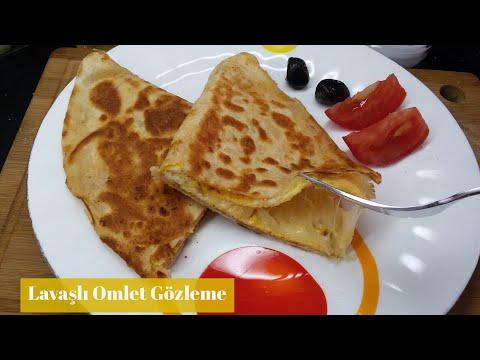 Lavaşlı Omlet Gözleme Tarifi - Naciye Kesici - Yemek Tarifleri