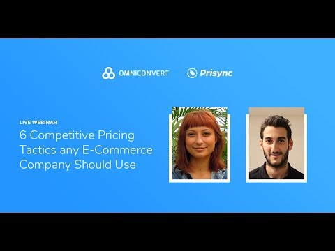 [Webinar] 6 Competitive Pricing Tactics Any Ecommerce Company Should Use