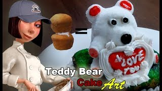 Teddy Bear Cake - Cake Art