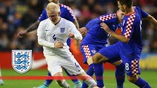 England U21s 2-1 Croatia | Goals & Highlights