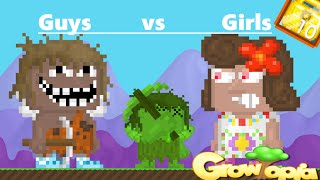 Growtopia- Guys vs Girls