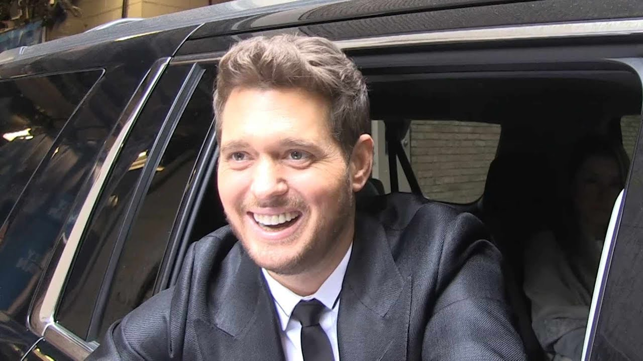 Michael Bublé Says Fans Knew When He Was Covered In Baby Puke - YouTube
