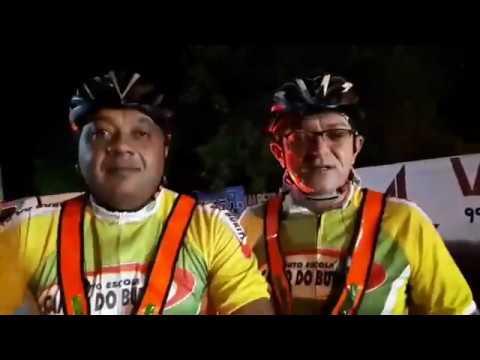 Cicclistas florianenses realizam o desafio de 152 KMs de Floriano a Bertolínia