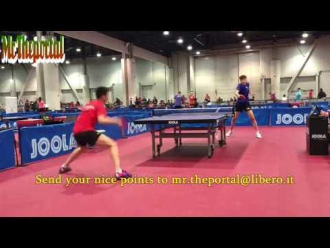 Table Tennis Nice Rallies