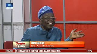 2019 General Elections, 'An Expensive Joke' – Falana |Sunrise Daily|