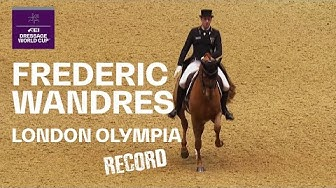 Frederic Wandres & Duke of Britain Record Breaking Performance at Olympia | FEI Dressage World Cup™