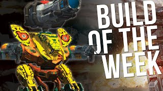 War Robots - Build Of The Week - Strider With Non-Stop Firing Plasma