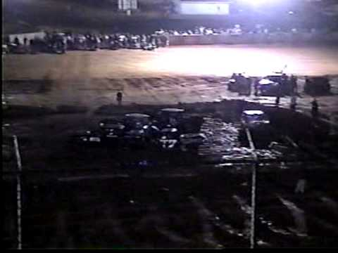 Clinton County Speedway Hard hit #8
