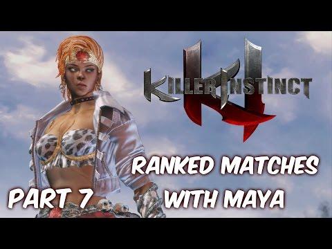 Killer Instinct Ranked Matches with Maya Part 7