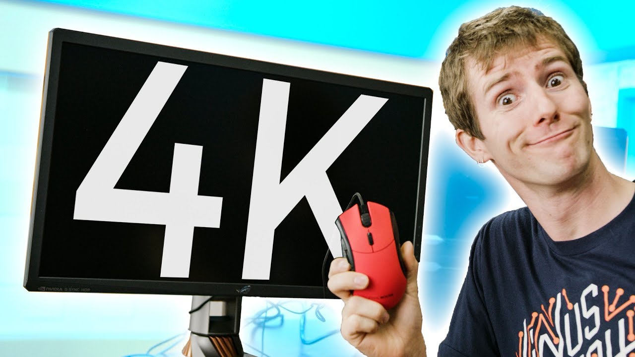 4k gaming is dumb youtube