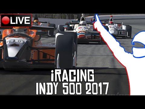 iRacing || Las 500 Millas de Indianapolis 2017 #Indy500 || LIVE