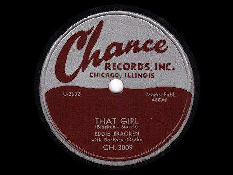 "1954 Eddie Bracken with Barbara Cook - THAT GIRL (Theme from the play ""The Seven Year Itch"")"