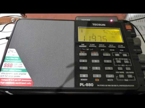 11975 kHz - RADIO ROMANIA INTERNATIONAL (Romanian)