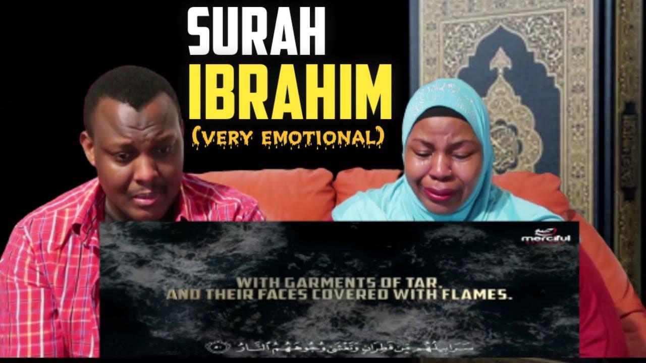 Download SURAH IBRAHIM (FULL VIDEO) | REACTION | EMOTIONAL | THE BAKIS FAMILY