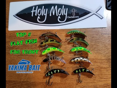 My Top 5 FlatFish Colors For Big Trout