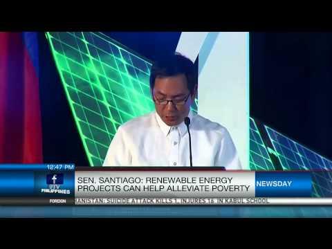 Senator Santiago: Renewable Energy Projects Can Help Alleviate Poverty