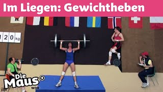 Gewichtheben im Liegen | WDR