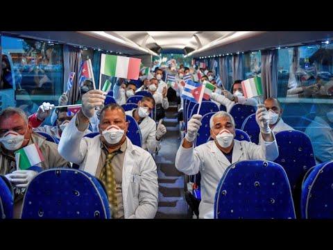I medici da Cuba e Russia pronti a lavorare in Italia: in questa guerra non siamo soli