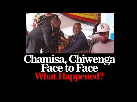 Chamisa and Chiwenga Face to Face at The Zimbabwe Independence Celebrations