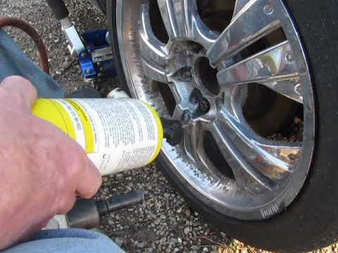 how to remove a frozen lug nut