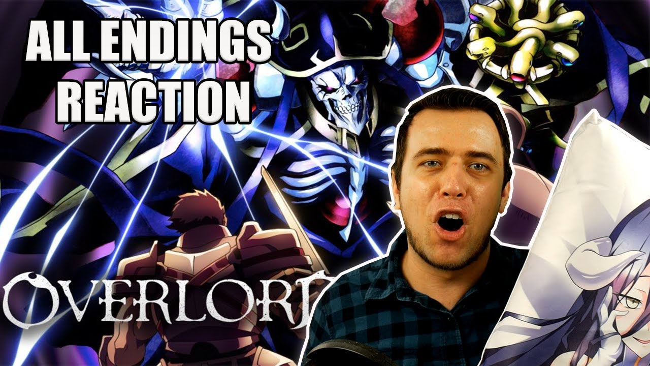 Overlord All Endings REACTION