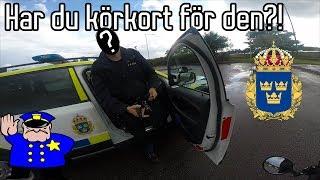Stoppad av POLISEN!! | Grom & Moped