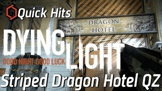 Quick Hits:  Dying Light - Striped Dragon Hotel QZ