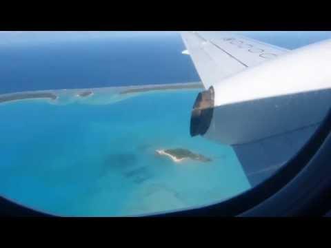 Air Rarotonga Saab 340 Scenic Departure @ AIT Aitutaki Airport