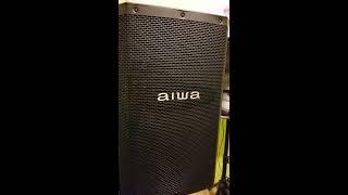 BAFLE AIWA 600 WATTS RMS