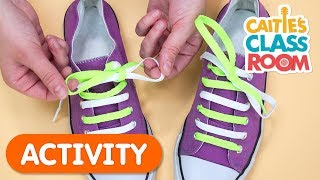 Learn To Tie Your Shoes!