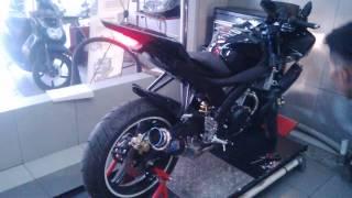 Yamaha R15 Knalpot Racing Termignoni GP Rossi (Motoralap Exhaust)
