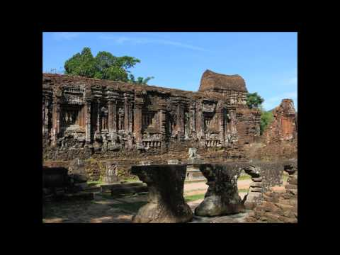 GO PRO TRAVEL MONKEYS VIETNAM MY SON CHAM TEMPLES  2015