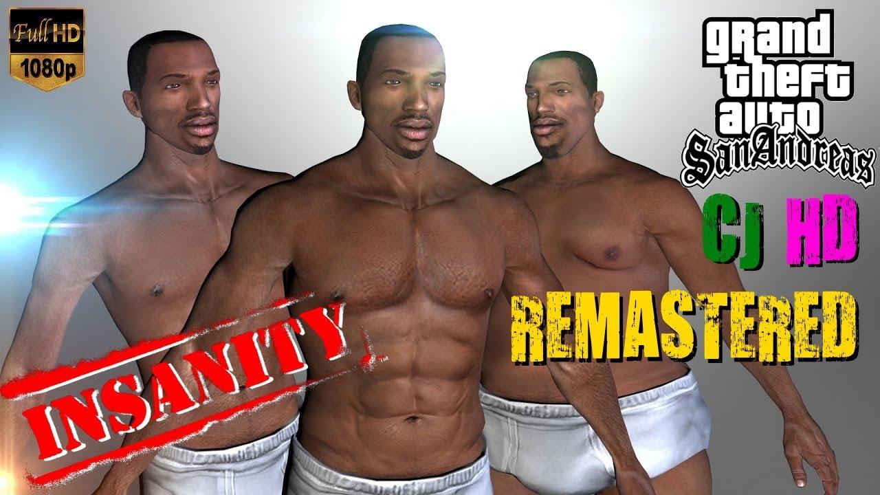gta novo cj insanity remastered hd 2017 characters legacy by ezekiel