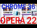Gambar cover Google Chrome 36 vs Opera 22!