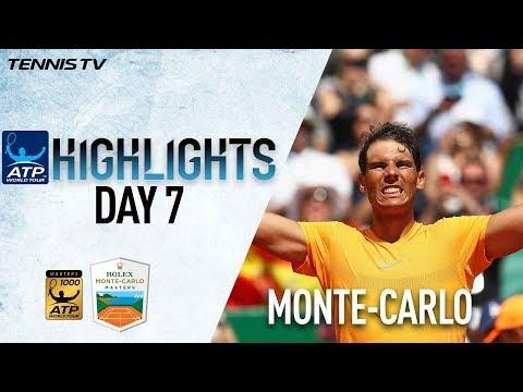 Highlights: Rafa Rolls Past Thiem Into 13th Monte-Carlo SF