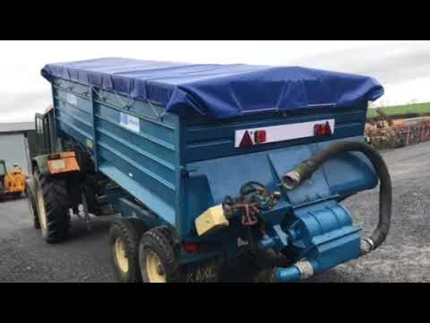 Kane bulk meal blower trailer PTO driven