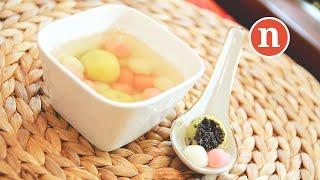 Glutinous Rice Balls   Kuih Ee   Tong Yuen   Tang Yuen   湯圓 [Nyonya Cooking]