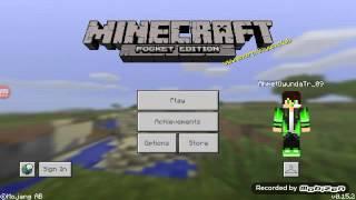 Minecraft Pe Sky Warsa nasıl girilir 0.15.4