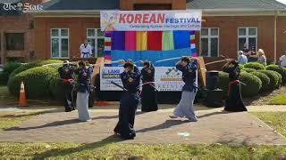 Korean Festival:  Taekwondo Demonstration