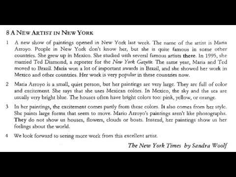 Reading Between Lines In New Yorkers >> A New Artist In New York 8 Parca More To Read 1 Youtube