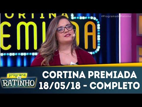 Cortina Premiada - Completo | Programa Do Ratinho (18/05/18)