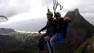 Como o Campeão Mundial de Boxe Venceu o Medo Voando de #Parapente no Rio de Janeiro