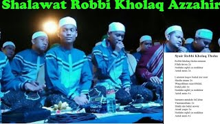 Download Lagu Lirik Shalawat Robbi Kholaq versi az-zahir. mp3