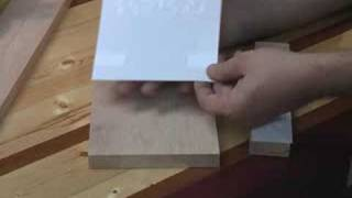 Scroll Saw Desk Book Shelf Part 1