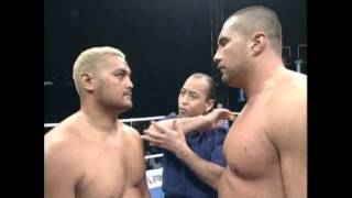 Mark Hunt vs. Jerome Le Banner (K-1 WGP 2001 Quarter Final)